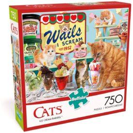 "Buffalo Games - Ice Cream Raiders - 750 Piece Jigsaw Puzzle Multicolor, 24""L X 18""W"