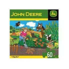 John Deere Children's Puzzle 60 Piece - I Dig Dirt