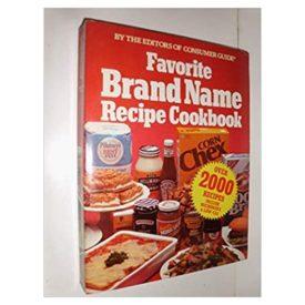 Favorite Brand Name Recipe Cookbook (Paperback)