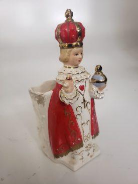 Vintage RUBENS Originals Japan 185 Vase/Planter Figurine The Infant of Prague 6