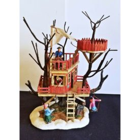 Lemax Village Collection Adults Keep Out Treehouse #44250