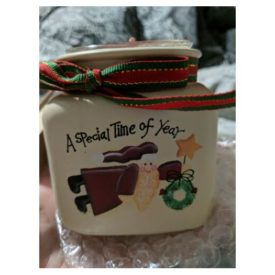 """Crazy Mountain Short Candle Jar Christmas - A Special Time of Year 26515 (3.25""""x3"""")"""