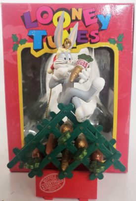 Looney Tunes Collectible Ornament - Bugs Bunny 24K Carrots