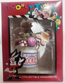 Looney Tunes Collectible Ornament - Taz In The Cookie Jar