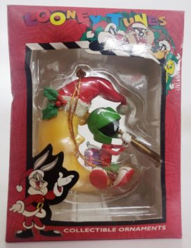 Looney Tunes Collectible Ornament - Marvin The Martian On The Moon