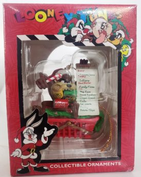 Looney Tunes Collectible Ornament - Taz Goes Grocery Shopping