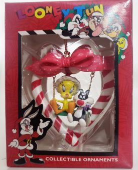 Looney Tunes Collectible Ornament - Baby Tweety & Baby Sylvester