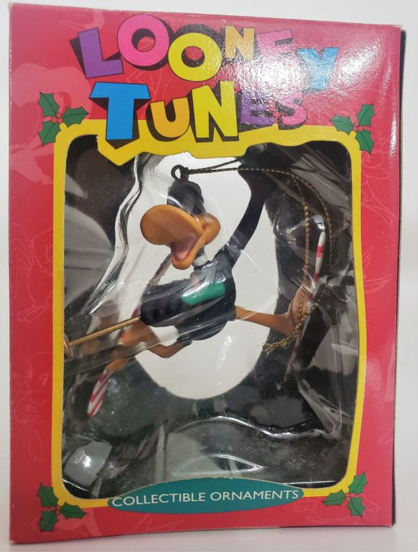 Looney Tunes Collectible Ornament - Daffy Duck Skier