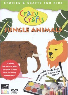 Crazy Crafts: Jungle Animals (DVD)