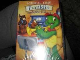 School Time, Franklin, Learns Five Important Lessons (DVD)