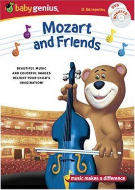 Baby Genius Mozart & Friends w/bonus Music (DVD)