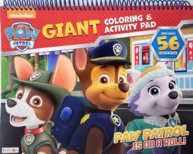 Paw Patrol Giant Coloring & Activity Pad + 56 Stickers