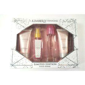 Kimberly Diamond Limited Edition Gift Set - Fragrance Mist, Eau De Parfum Spray, Shower Gel, Lotion