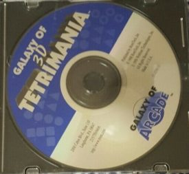 Galaxy of 3D Tetrimania (Jewel Case) (CD PC Game)