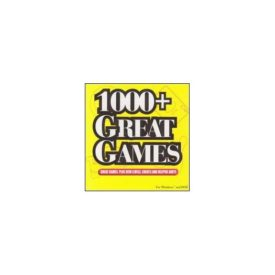 1000+ Great Games (Jewel Case) (CD PC Game)
