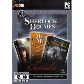Sherlock Holmes Chronicles 3 Bestselling Mystery Games (CD PC Game)