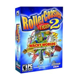 RollerCoaster Tycoon 2: Wacky Worlds Expansion Pack (CD PC Game)