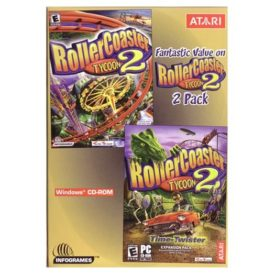 Roller Coaster Tycoon 2 Pack (CD PC Game)