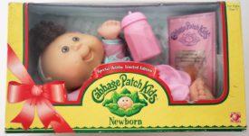 2005 Jakks Pacific Cabbage Patch Kids Newborn Baby Girl Doll - Lola Erica