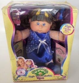 2005 Jakks Pacific Cabbage Patch Kids Magic Touch Colorsilk Hair Color Changes - Nicole Lana