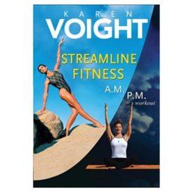 Karen Voight - Streamline Fitness (A.M./P.M. Workout) (DVD)