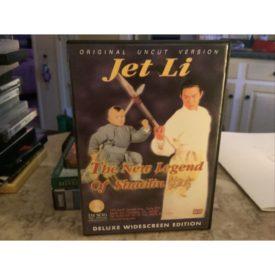 THE NEW LEGEND OF SHAOLIN (Jet Li) (DVD)