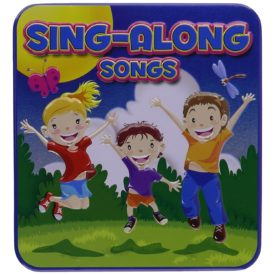 Sing & Play / Sing-Along Children's' Songs (Includes Sticker + Sketch Pad In Collectible Tin)