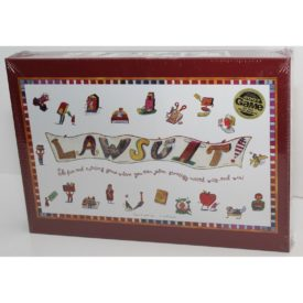 Lawsuit! Family Board Game