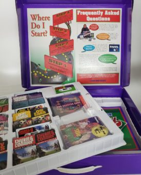 1999 The Phonics Game By A Better Way of Learning PG06-02: 6 Audio Cassettes w/ Cards, Plus Games on CD For Mac and PC