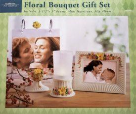 Salton At Home Floral Bouquet Gift Set 3 Piece