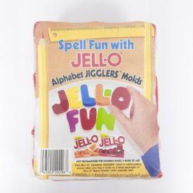 Jell-O Alphabet Jigglers Molds