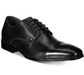 Kenneth Cole Unlisted Men's Lesson Plan Oxford Shoe Black Size 12 Medium