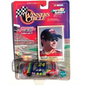 Winners Circle Speedweeks 99 Series Daytona 500 1:64 Scale Nascar #24 Jeff Gordon Dupont Stock Car