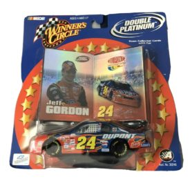 Winner's Circle Jeff Gordon Double Platinum NASCAR #24 Dupont 1:43 Scale