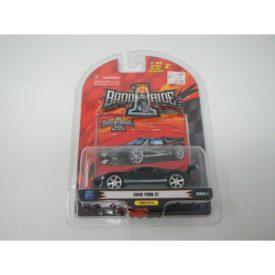 Badd Ride Series 6 2005 Ford Mustang GT Black White Stripes 1:64 Die Cast