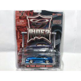 1993 Ford Mustang Cobra SVT Foxbody BLUE Maisto G-Ridez 1:64 Scale VERY RARE