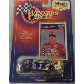 Winners Circle Jeff Gordon 1:64 Lifetime Series 1997 Kenner Hasbro