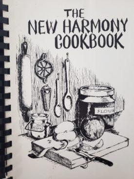 The New Harmony Cookbook Kappa Kappa Kappa, Inc. New Harmony, Indiana (Plastic-comb Paperback)