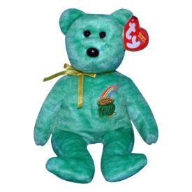 TY Beanie Baby – KILLARNEY the Irish Bear (8.5 inch)