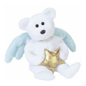 TY Beanie Baby - Star the Angel Bear