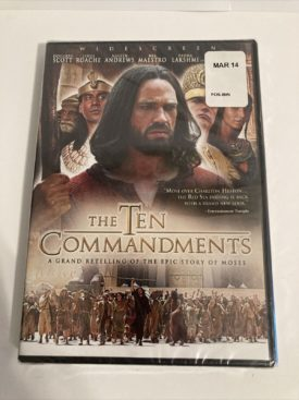 The Ten Commandments - A grand retelling of the epic story of Moses (DVD)