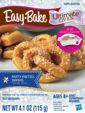 Easy-Bake Ultimate Oven Party Pretzel Dippers Refill Mix 1 Pack