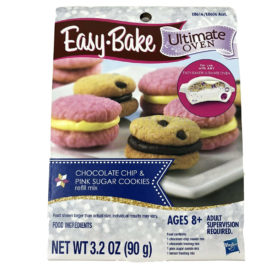 Easy-Bake Ultimate Oven Chocolate Chip & Pink Sugar Cookie Refill Mix 1 Pack
