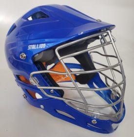 Schutt Stallion Youth Lacrosse Helmet Size Medium - Royal Blue