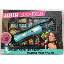Hair Beader Girls Kids Dazzling Trendy Hair Style Accessories Kit Ages 6+