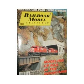 Railroad Model Craftsman Magazine (November, 1992) - Vol 61 No. 6 (Collectible Single Back Issue Magazine)