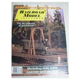 Railroad Model Craftsman Magazine, April 1986 - Vol 54 No. 11 (Collectible Single Back Issue Magazine)