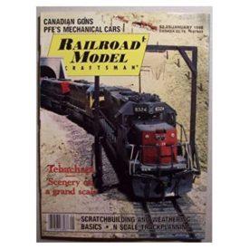 Railroad Model Craftsman [ January 1988 ] - Vol 56 No. 8 (Collectible Single Back Issue Magazine)