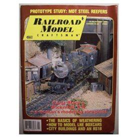 Railroad Model Craftsman [ January 1990 ] - Vol 58 No. 8 (Collectible Single Back Issue Magazine)
