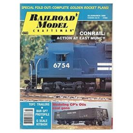 Railroad Model Craftsman March 1988 - Vol 56 No. 10 (Collectible Single Back Issue Magazine)